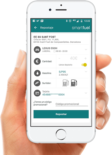 Smartfuel movil Vilacarburants
